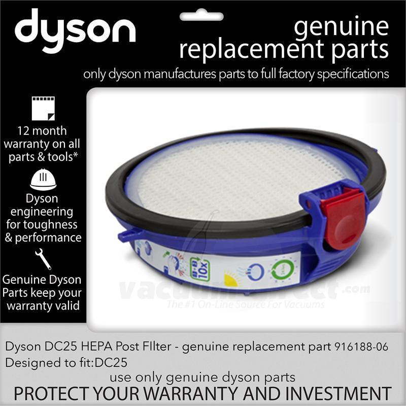 Dyson DC25 HEPA Post Filter 916188-06