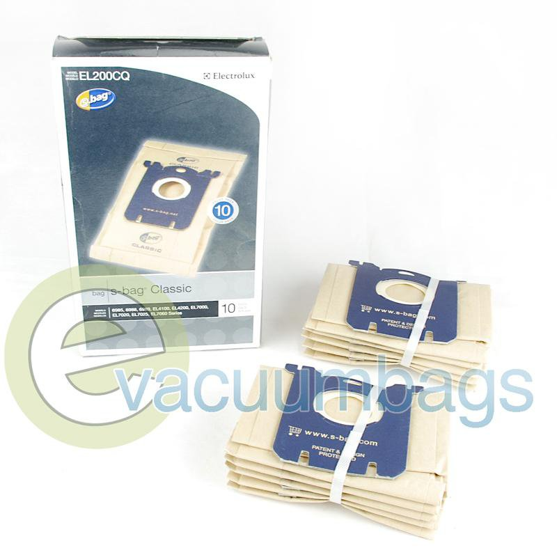 Electrolux Style S Harmony & Oxygen Canister Paper Vacuum Bags 10 Pack  EL200BQ E-EL200BQ