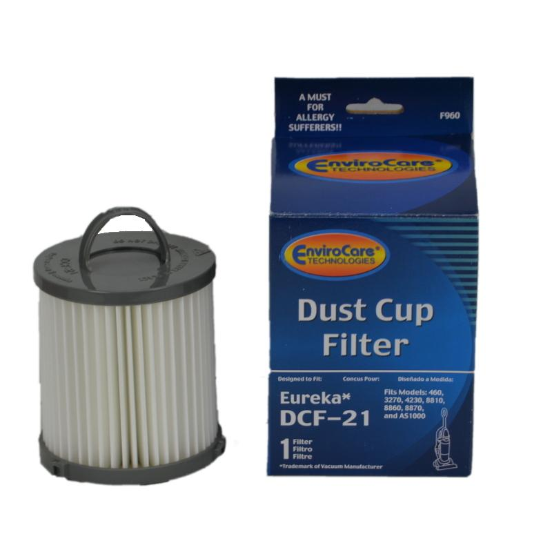 Eureka DCF-21 Generic Dust Cup Filter by EnviroCare  F960 ER-1821