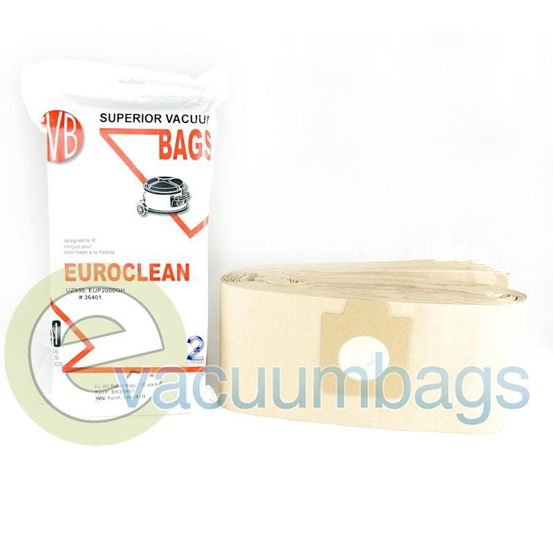 Fit All VAC2000 Paper Vacuum Bags 10 Pack  BA36401 FA-1410
