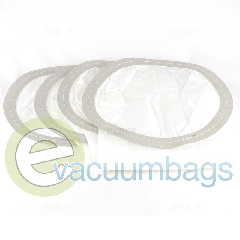 "Filtex 9 Gallon Central Vacuum 13.5"" Diameter Paper Vacuum Bags by DVC 4 Pack  405906 FIR-1409"