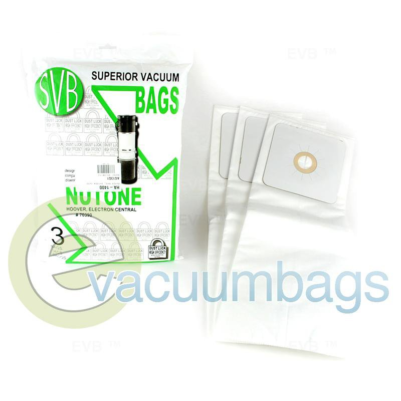 Hayden SV5000 SuperVac and 81SV50 Paper Vacuum Bag 3 Pack  811810 HA-1400