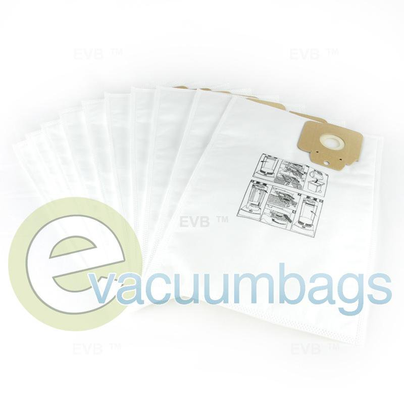 Tornado Karcher CV30 and CV38 Upright Synthetic Vacuum Bags 10 Pack  PNK69043050 PNK69043050