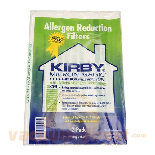 Kirby Generation & Sentria Style F Vacuum Bags 2 Pack 49-2454-06