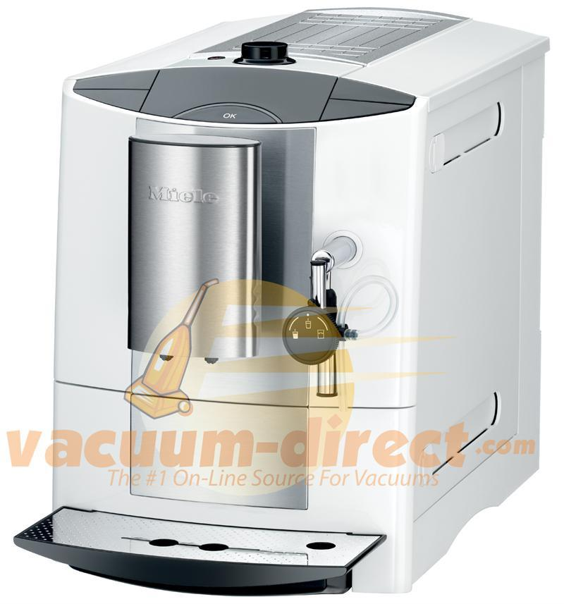 Miele CM 5100 Coffee System in Stainless Steel & White