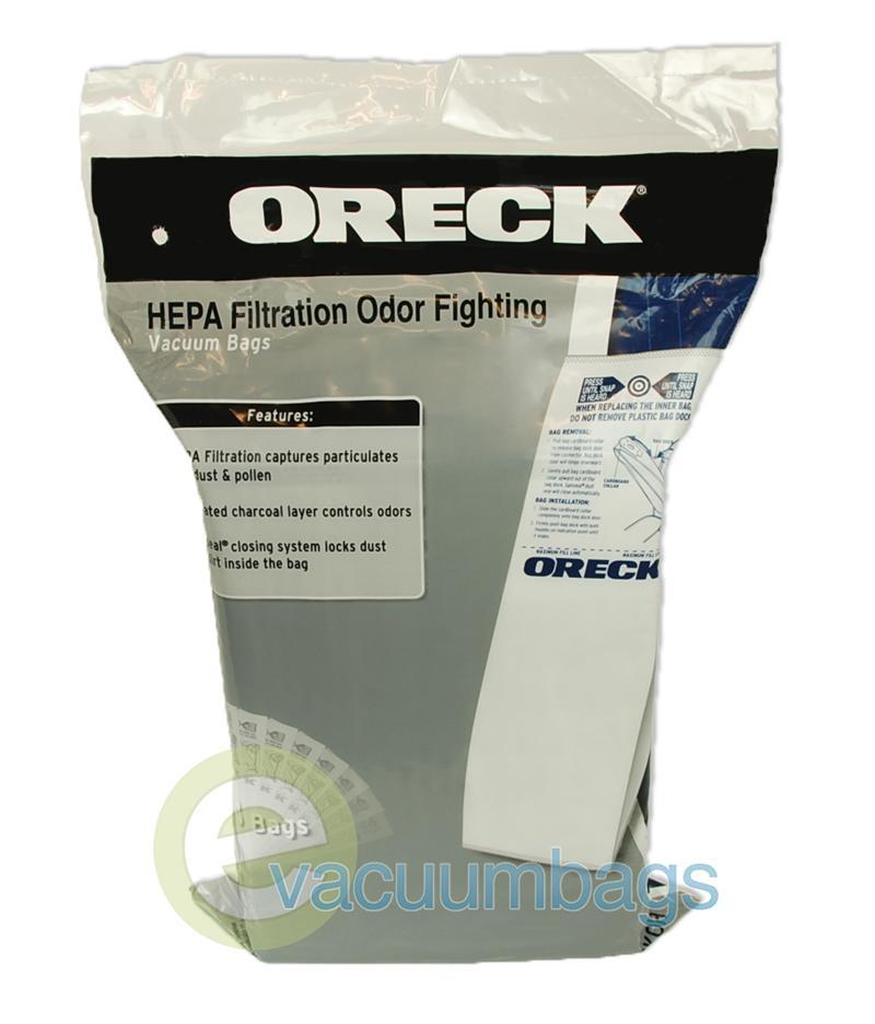 Oreck Type HB Upright Hypo-Allergenic Celoc Charcoal Filter Vacuum Bags 8 Pack  CYPK80F 59-2414-06
