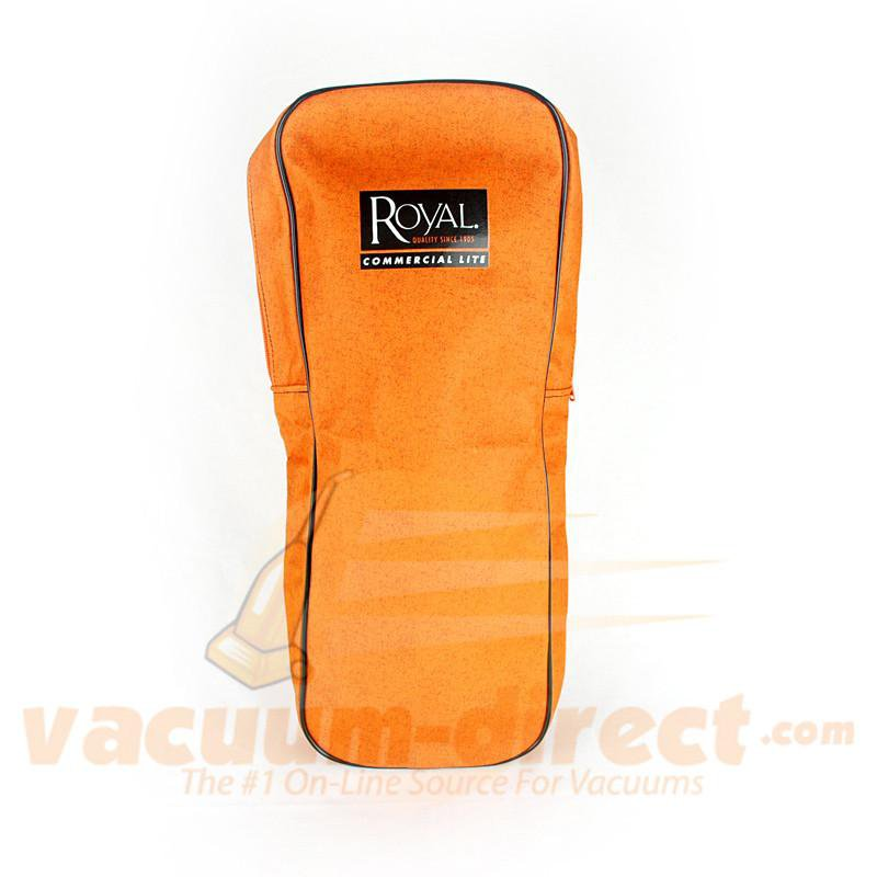 Royal RY5000 Commercial Outer Cloth Zipper Orange Vacuum Bag Assembly 2500040BG0