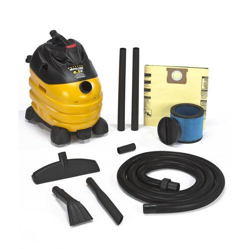 Shop-Vac 10 Gallon Right Stuff Wet/Dry Vacuum w/ Dolly 6.5 Peak HP 5873410