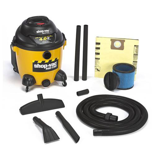 Shop-Vac 10 Gallon Right Stuff Wet/Dry Vacuum - 4.0 Peak HP