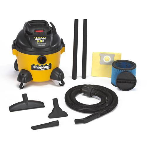 Shop-Vac 6 Gallon Right Stuff Wet/Dry Vacuum 3.0 Peak HP 9650610