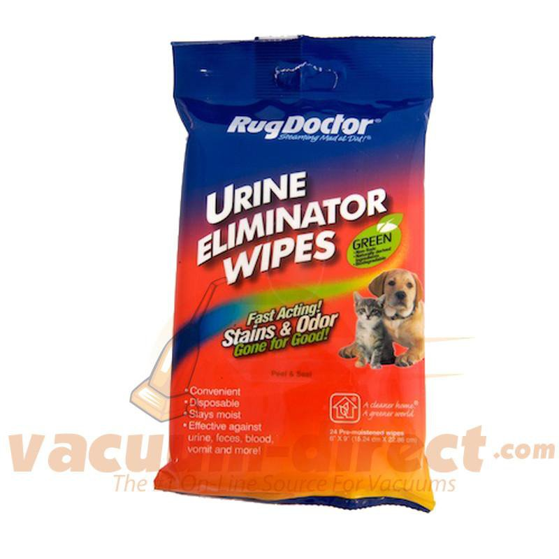 Rug Doctor Green Urine Eliminator Wipes 4070