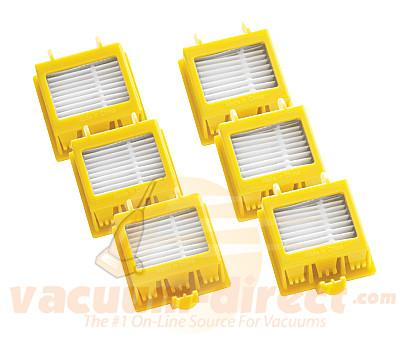 iRobot 3 Replacement Sets Of Dual HEPA Filters 21899