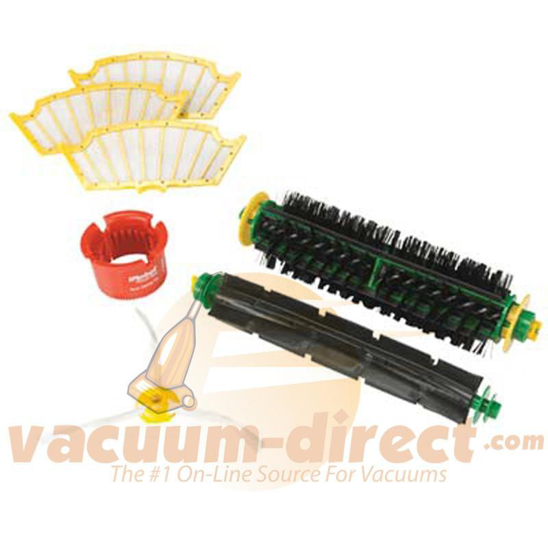 iRobot Replenish Kit for 500 Series Red & Green Cleaning Heads 82401