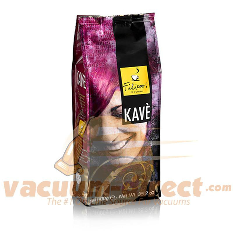 Filicori Zecchini Whole Bean Kave Decaffeinated Coffee - 2.2 pounds