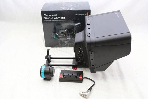 "Blackmagic Design Studio Camera with 10"" LCD Screen HD 2 CINSTUDMFT/HD/2, EXTRAS"