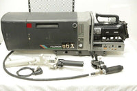 Fujinon Sh66X7.3 box lens With JVC GY-HM700 HD SDI camera, rear controls, Sled