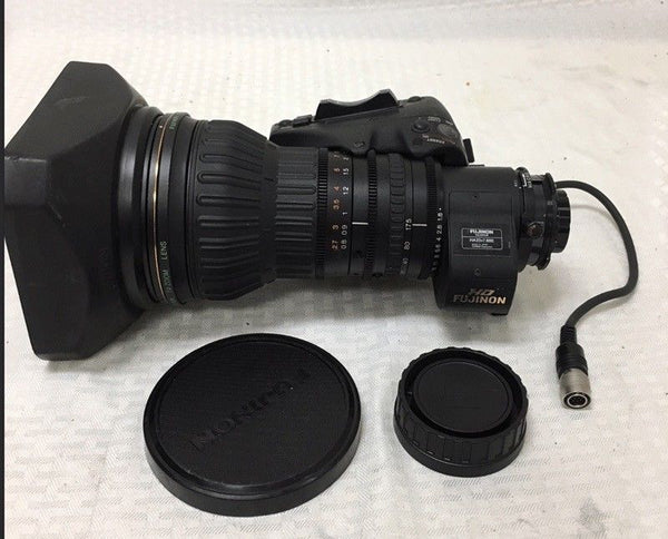 "Fujinon HA23X7.6BERM-M48 HD 2/3"" lens for Panasonic and Sony professional cameras"