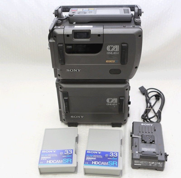 Sony SRW-1/SRPC-1 HD-SDI 4:4:4 SR Tape Recorder for F35 F65, F23 fully tested!
