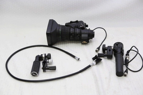 "Fujinon XA20X8.5BERM M-48 2/3"" HD lens With rear controls and 2X extender NICE!"