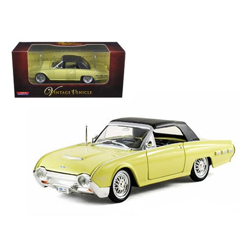 1962 Ford Thunderbird Yellow 1/32 Diecast Car Model by Arko Products