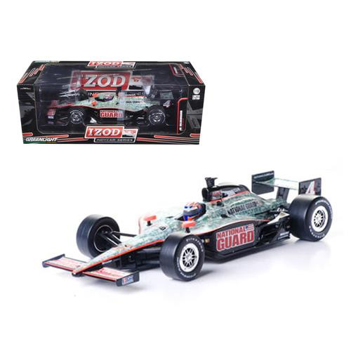 "2011 Izod Indy Car J.Hildebrand Jr. #4 Panther Racing ""National Guard"" 1/18 Diecast Model Car by Greenlight"