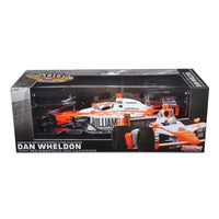 2011 Dan Wheldon #98 Bryan Herta Autosport Indy 500 Winner Car Tribute Edition Packaging 1/18 Diecast Model Car by Greenlight
