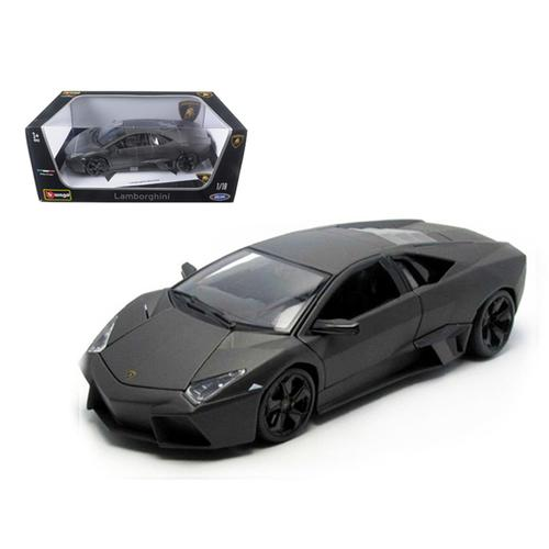 Lamborghini Reventon Matt Grey 1/18 Diecast Model Car by Bburago