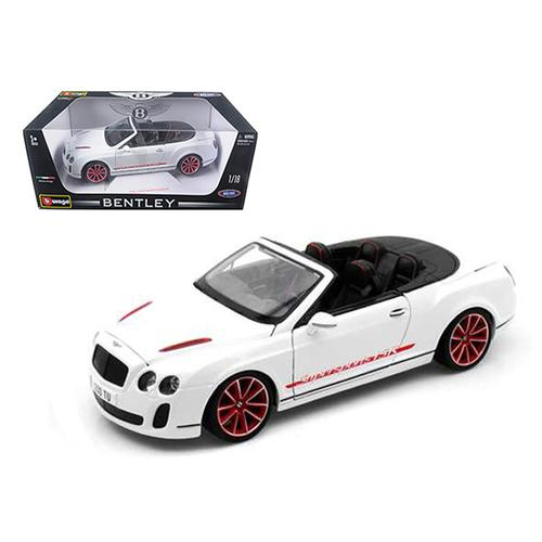 2012 2013 Bentley Continental Supersports Isr Convertible White 1 18