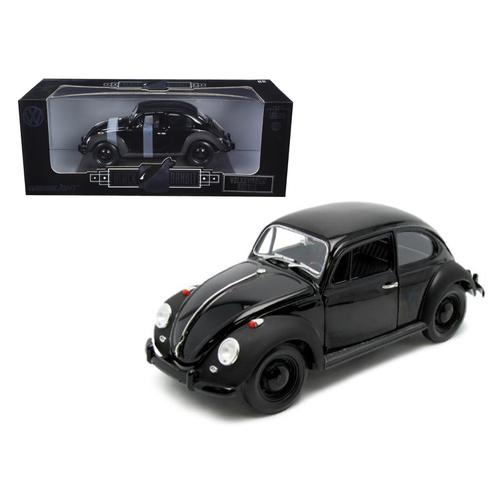 "1967 VW Volkswagen Beetle ""Black Bandit"" 1/18 Diecast Model Car by Greenlight"