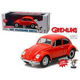 1967 Volkswagen Beetle Gremlins Movie (1984) with Gizmo Figure 1/18 Diecast Model Car by Greenlight