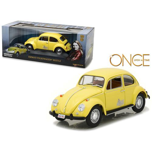 "Emma's Volkswagen Beetle Yellow ""Once Upon a Time"" TV Series (2010-Current) 1/18 Diecast Model Car by Greenlight"