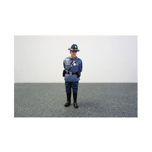 State Trooper Craig Figure For 1:24 Diecast Model Cars by American Diorama