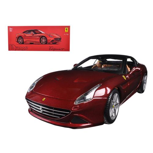 Ferrari California T Closed Top Red Signature Series 1/18 Diecast Model Car by Bburago
