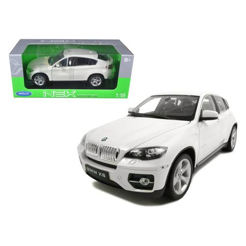 2011 2012 BMW X6 White 1/18 Diecast Car by Welly
