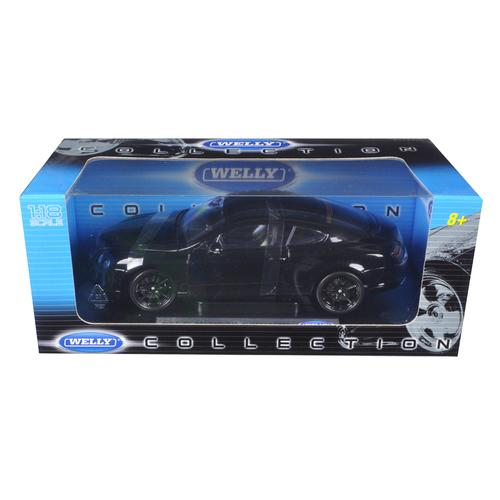 Bentley Continental Supersports Black 1/18 Diecast Car Model by Welly