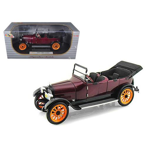 1917 REO Touring Burgundy 1/18 Diecast Model Car by Signature Models