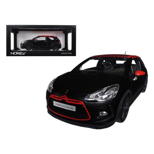 2012 Citroen DS3 Racing S.Loeb Matt Black 1/18 Diecast Car Model by Norev
