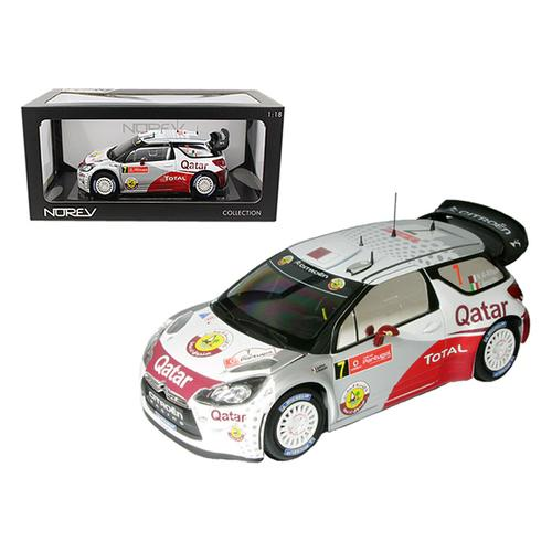 Citroen DS3 #7 WRC Rally Portugal 2012 Al-Attiyah / Bernacchini 1/18 Diecast Car Model by Norev