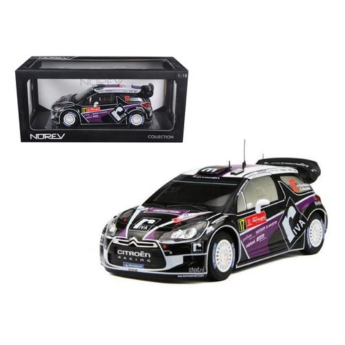 Citroen DS3 #17 WRC Rally Portugal 2012 Merksteijn Jr / Chevallier 1/18 Diecast Car Model by Norev