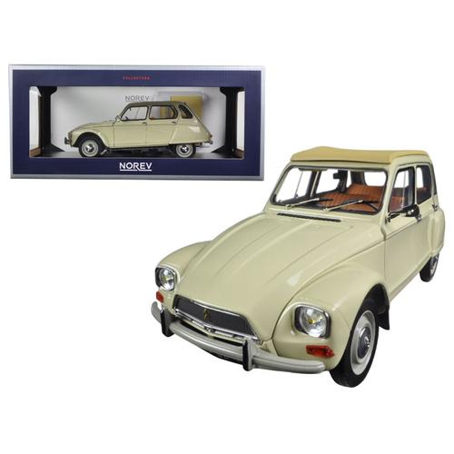 1970 Citroen Dyane 6 Erable Beige 1/18 Diecast Model Car by Norev