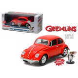 1967 Volkswagen Beetle Gremlins Movie (1984) with Gizmo Figure 1/24 Diecast Model Car  by Greenlight