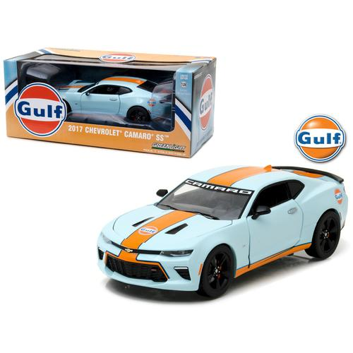 2017 Chevrolet Camaro SS Gulf Oil Racing 1/24 Diecast Model Car by Greenlight