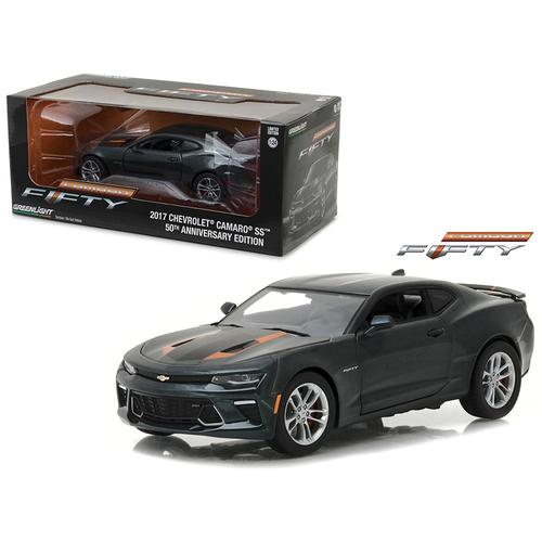 2017 Chevrolet Camaro SS 50th Anniversary 1/24 Diecast Model Car by Greenlight