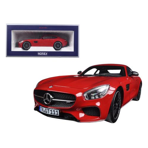 2015 Mercedes AMG GT Red 1/18 Diecast Model Car by Norev