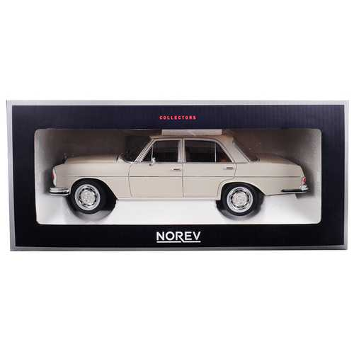 1968 Mercedes 280 SE Ivory 1/18 Diecast Model Car by Norev