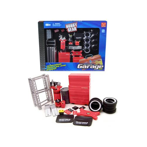 Garage Accessories Set For 1/24 Scale Diecast Models by Phoenix Toys