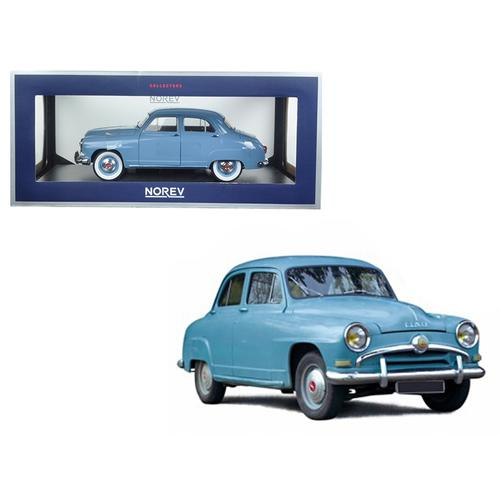 1954 Simca Aronde Light Blue 1/18 Diecast Model Car by Norev