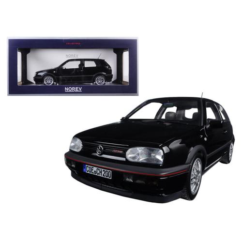 1996 Volkswagen Golf GTi 20 Years Anniversary Edition Black Metallic 1/18 Diecast Model Car by Norev