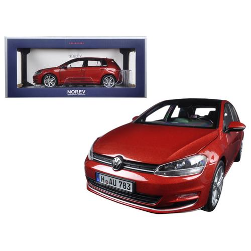 2014 Volkswagen Golf Red Metallic 1/18 Diecast Model Car by Norev