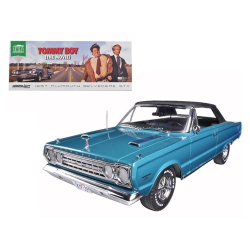 "1967 Plymouth Belvedere GTX ""Tommy Boy"" Movie (1995) 1/18 Diecast Model Car by Greenlight"